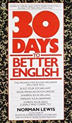 Thirty Days to Better English (Signet) by Norman Lewis (1985-04-02)