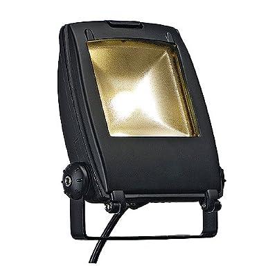 SLV LED Flood Light, 10 W, 120 Grad, warmweiß / schwarz matt 231152 von SLV - Lampenhans.de