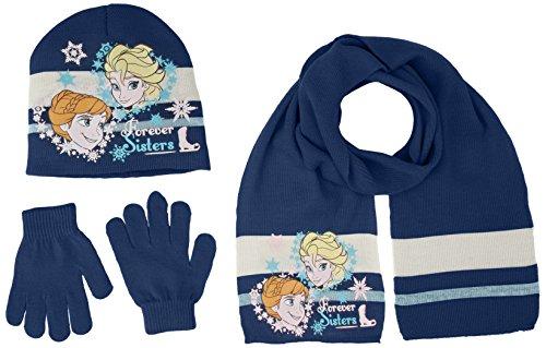 Disney Frozen, Bonnet Fille Bleu - Bleu marine