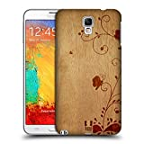 Head Case Designs Swirl Wood Art Protective Snap-on Hard Back Case Cover for Samsung Galaxy Note 3 Neo N7505