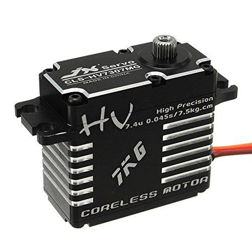 LaDichaJX CLS-HV7307MG 7KG HV hochpräzises Stahlgetriebe Digital corelos Lock Tail Servo