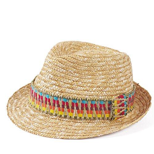 JIANCHIJY Summer Beach Hat Chapeau Doux Archet Sun Visor Hat