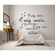 Suchergebnis auf Amazon.de für: wandtattoos sprüche schlafzimmer ...