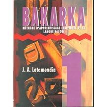 Bakarka: Méthode d'apprentissage individuel de la langue basque