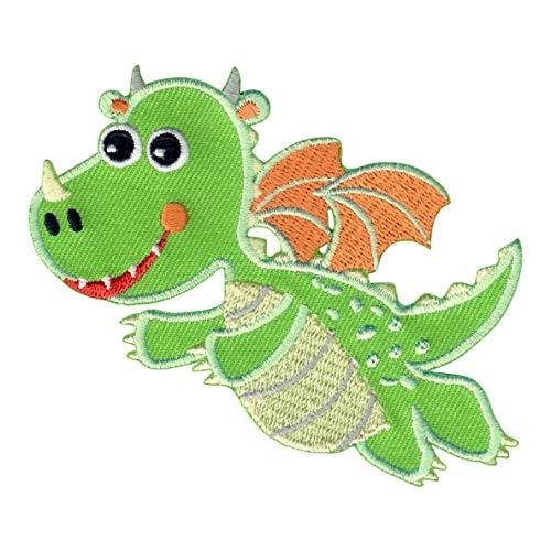 PatchMommy Parche Bordado Dragon Parche Termoadhesivo