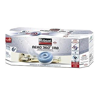 Rubson AERO 360° Recharges en tabs neutres pour absorbeur d'humidité, ultra absorbantes et anti odeurs recharges pour déshumidificateurs AERO 360° (6 x 450 g)