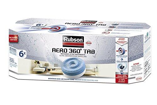 Rubson - Lote recargas neutras Aero 360 6 unidades