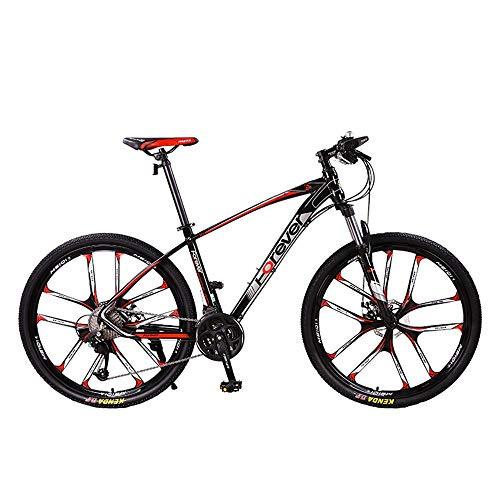 NBWE Mountainbike Einrad Herren Offroad Beschleunigung Super Light Adult Double Shocking Fahrrad Scheibenbremsen 30 Geschwindigkeit 26 Zoll Commuter Bicycle