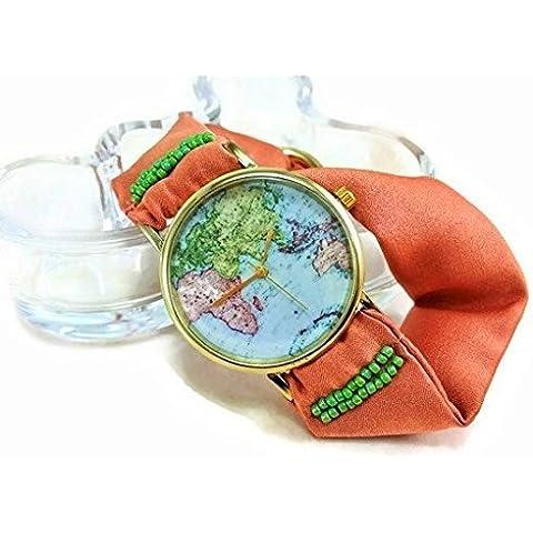 Bracciale Orologio da polso in seta color