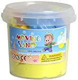 #3: Absales Play & Craft Kinetic Play Sand Moldable Beach Magic Moving Sand with Molds for Kids Boys, Girls, Beach Fun Creative Playing,Colors May Vary (1 KG)