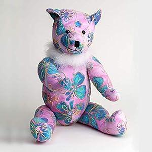 Canterbury Bears ltd 146 Liberty - Oso de algodón, diseño de Oso, Color Rosa y Azul