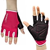AOLIKES Transpirable Hombre Mujer Guantes Ciclismo Gimnasio Crossfit...