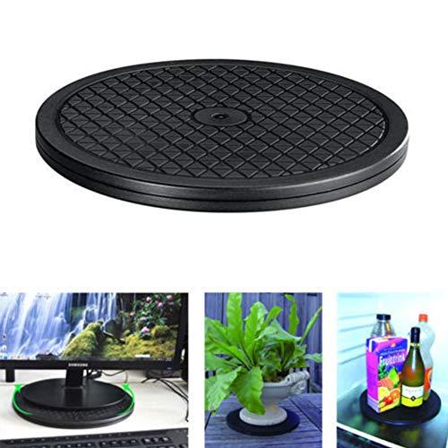 Drehbarer Drehständer, drehbar, Kunststoff, vielseitig verwendbar, für Fernseher, Computer-Monitore, Laptop, Pflanzen, Kuchen-Dekoration, HiFi-Lautsprecher