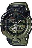 Casio Herren Multi Zifferblatt Quarz Uhr mit Harz Armband GA-500K-3AER
