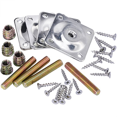 mudder-leg-mounting-plates-with-hanger-bolts-screws-adapters-for-furniture-sofas-couches-seats-28-pi