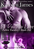A Voice to Love (Fallen Tuesday Book One) (A Brothers of Rock Novel) (rockstar contemporary romance)