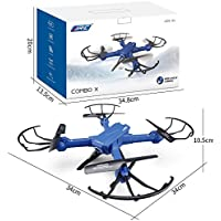 JJRC Drone H38 WH COMBO X RC Quadcopter RTF WiFi FPV 2MP Camera Drone Toy Helicopter - Compare prices on radiocontrollers.eu