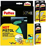 "Pattex Heißklebepistole ""Hot Pistol"" PHP6 inkl. 6 Klebesticks + 30 Sticks extra"