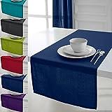 Camino de mesa - 150x50 cm - Azul marino