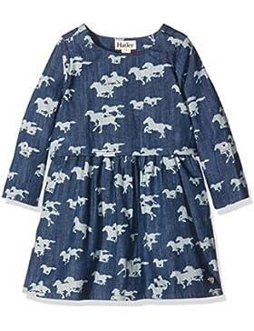 Hatley Pretty Horses Denim 2 Layer Dress, Vestido para Niños
