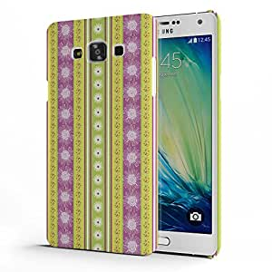 Koveru Designer Printed Protective Snap-On Durable Plastic Back Shell Case Cover for Samsung Galaxy A7 - Flower beauty