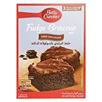 ‏‪Betty Crocker Fudge Brownie Mix Dark Chocolate, 500 gm‬‏