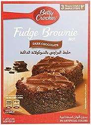 Betty Crocker Fudge Brownie Mix Dark Chocolate, 500 gm