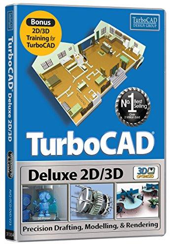 TurboCAD Deluxe 2016 (PC DVD)