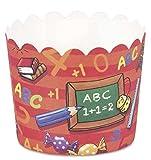 CupCake - Förmchen/Backformen SCHULANFANG - ABC (4,7 x 5 cm / 12 Stk.) TOP - QUALITÄT