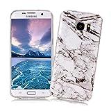 Coque Samsung Galaxy S7 EDGE XiaoXiMi Etui en Marbre Texture Housse de Protection...