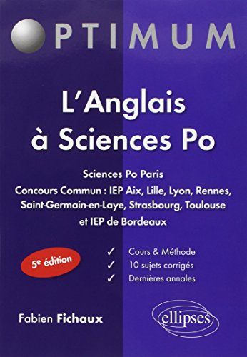 L'Anglais à Sciences Po
