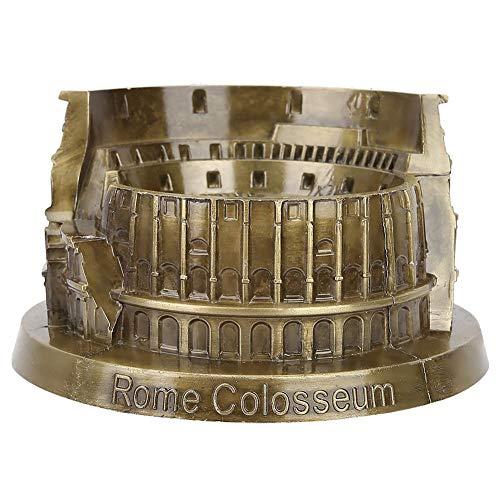 FTVOGUE Das antike Rom Kolosseum Modell Metallhandwerk Ornamente Touristische Souvenirs Wohnzimmer B/üro Dekoration Kunsthandwerk Bronze