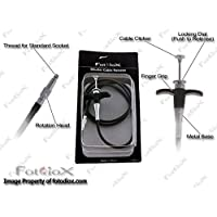 Filo otturatore con piastra di fissaggio 40cm–Shutter Release Cable–40cm universale