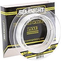 SeaKnight FluoroKote Lenza da pesca ad alta resistenza 100,6m invisibile Linea di pesca, 5LB/0.170mm(100M/110Yds)