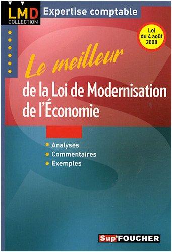 Le meilleur de la loi de modernisation de l'économie