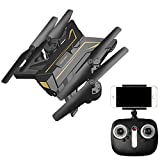 Bangcool RC Quadcopter Headless Drone Toy WiFi Transmission Foldable Camera Quadcopter Drone