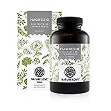 NATURE LOVE Magnesio - 2250 mg citrato de magnesio, de ello 360 mg magnesio elemental por dosis...