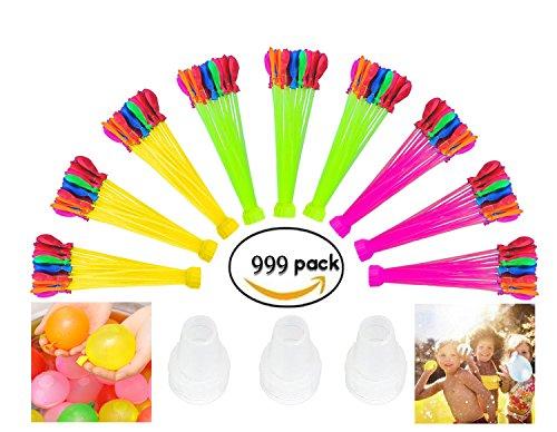 Preisvergleich Produktbild TangyueW- Original Bunch O Balloon Wasserbomben, 100 Wasserbomben in 60 Sekunden - selbstschließend ohne Knoten 999 Stück/222 Stück/111 Stück