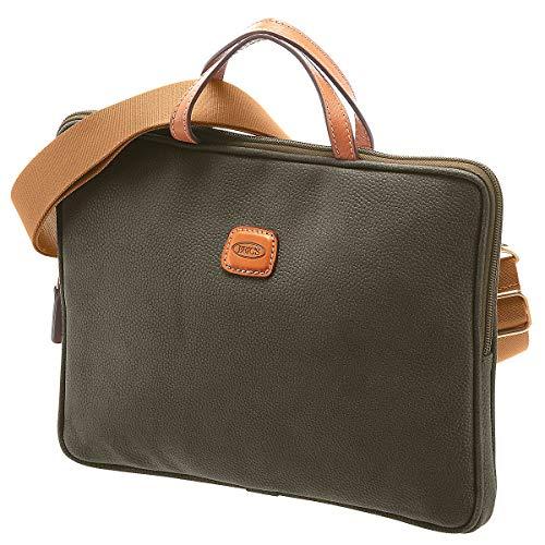 Brics Life Laptoptasche 30 cm Olive - Life-laptop-tasche
