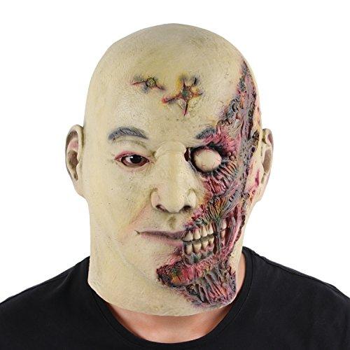 rror Maske Ideal für Halloween Karneval Halloween Kostüm,One Size,Brennen (Halloween Kostüme Commerce)