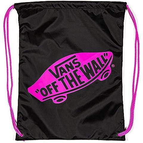 Vans Tasche G Benched Bag - Bolsa de gimnasia de cuerdas, color negro, talla 44.5 x 13.5 x 1 cm, 12