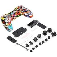 Nuevo contrã' leur esqueleto Gamepad vivienda Shell w/botones Kit para tapa de la poignã © e PS4