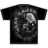 Rocks-off Herren T-Shirt NOTB Grey Tone, Schwarz, L