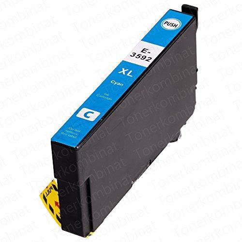1 EasyInk Druckerpatronen kompatibel zu EPSON 35XL T3592 Cyan für Epson Workforce Pro Serie WF 4720 DWF WF 4730 DTWF WF 4735 DTWF WF 4740 DTWF - 1 Ea-toner-patrone
