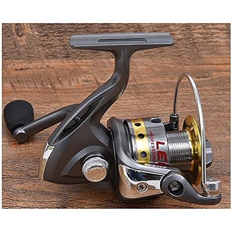 ishowtore intercambiabili manico pieghevole pesca Spinning Reel 10BB, 7000