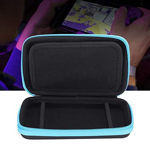 Tragbare Aufbewahrung Tasche Eva Hard Box Tragetasche Handtasche mit 8 Game Karten Steckplatz für Nintendo 2DS XL mit wasserdichte, Tropfenfeste und Hochwertige Matrials. - Blau Ds Pokemon