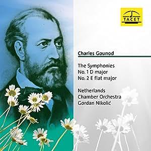 Gounod : The Symphonies, n° 1 D major / n° 2 E flat major