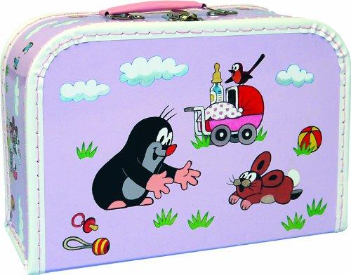 Preisvergleich Produktbild Maulwurfshop 4103 - Kinderkoffer der kleine Maulwurf 30 cm Pappe, flieder