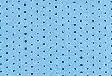 Westfalenstoffe * Nicki * Punkte hellblau * 50 x 160 cm