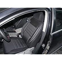 Cubiertas para asientos de automóvil Renault Koleos no3 negro-gris protectores juego completo ara los asientos delanteros y traseros fundas de asiento